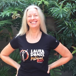 Image of Laura Dance Festival tshirt