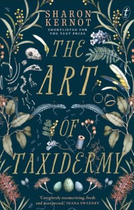 book cover Art of Taxidermy